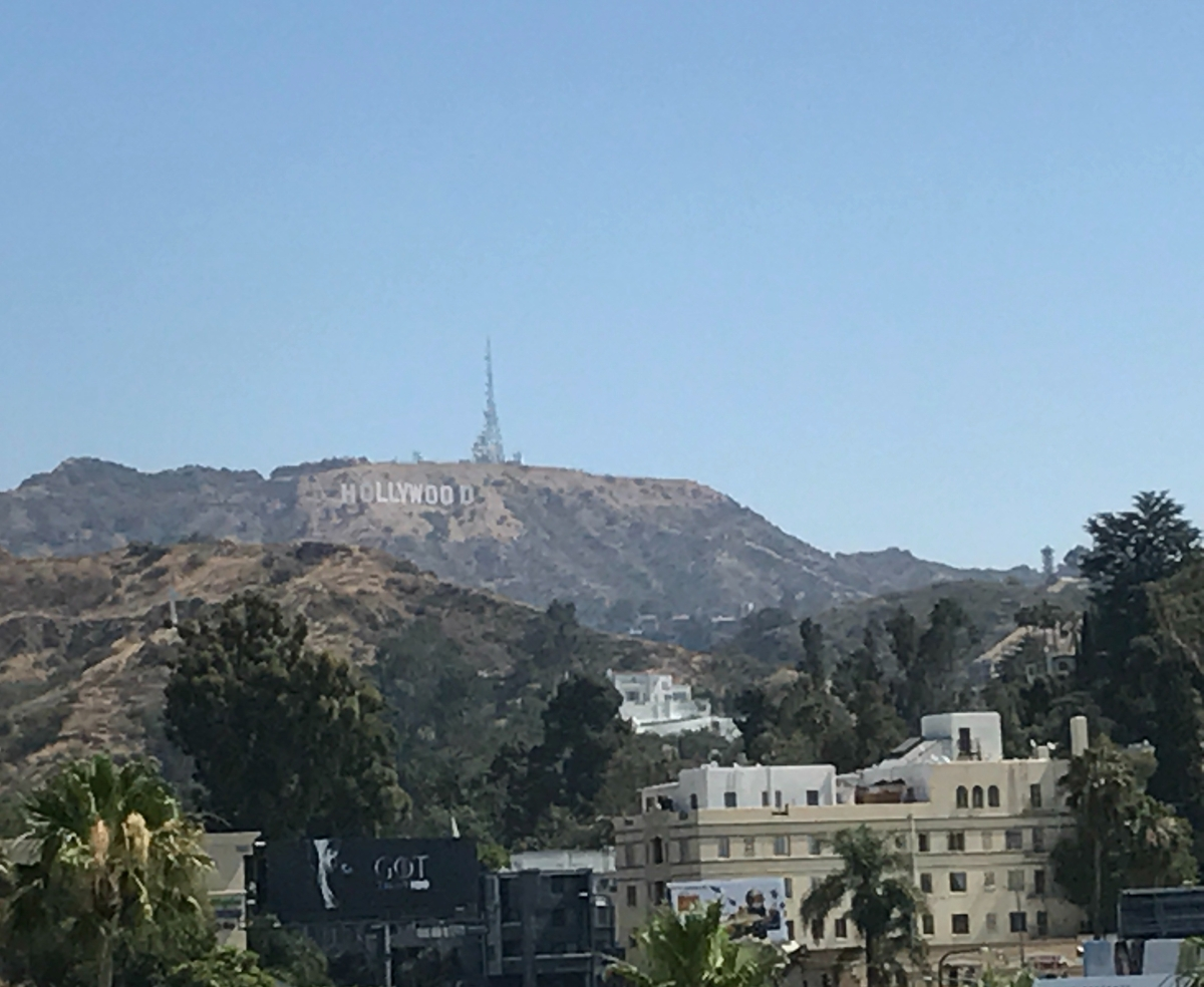 There's something in the air in Hollywood…